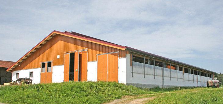 Modulgebäude / Stall / für Rinder - Wolf System GmbH