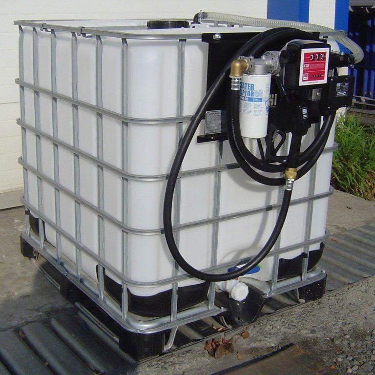 Diesel Tank Mobil Kunststoff Mit Verteilerpumpe Fdi 1000