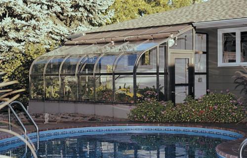 Gewachshaus Fur Hobbygarten Aluminiumstruktur Glas Cultivator