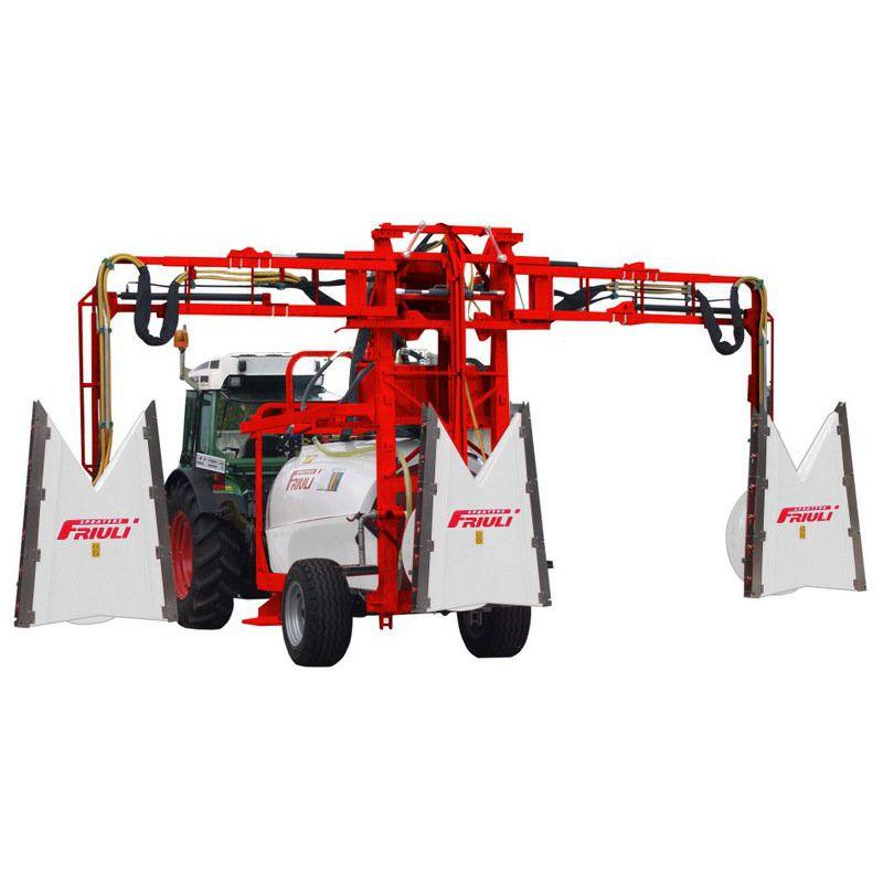 Feldspritze für Obstbau / geschleppt / klappbar - DIA TRIS Series ...