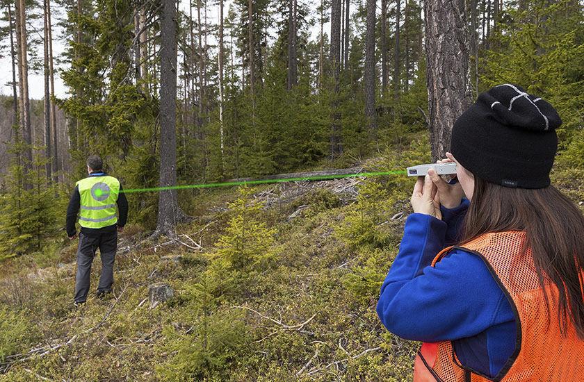 Entfernungsmesser für forstarbeiten laser haglöf sweden ab