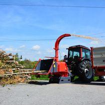 Häcksler mit Zapfwelle / traktormontiert / hydraulisch