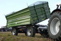 Dreiseitenkipper-Anhänger / mit Kipper / 2-Achsen / Landwirtschaft