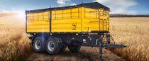 Anhänger mit Kipper / 2-Achsen / Landwirtschaft / zum Kippen
