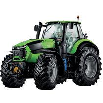 Stufenlos regelbarer Traktor / mit Kabine