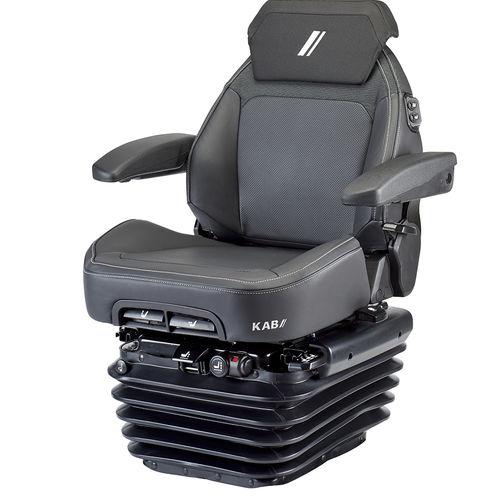 Sitz für Traktoren / mit pneumatischer Federung