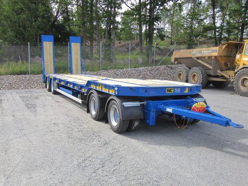 Dolly-Anhänger / 3-Achsen / 4-Achsen / Baumaschinentransporter N.C. Engineering Ltd.
