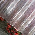 Dachplatte aus glasfaserverstärktem Polyester / für Gewächshäuser / Well / UV-Schutz