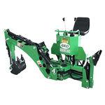 Löffelbagger für Traktor / hydraulisch
