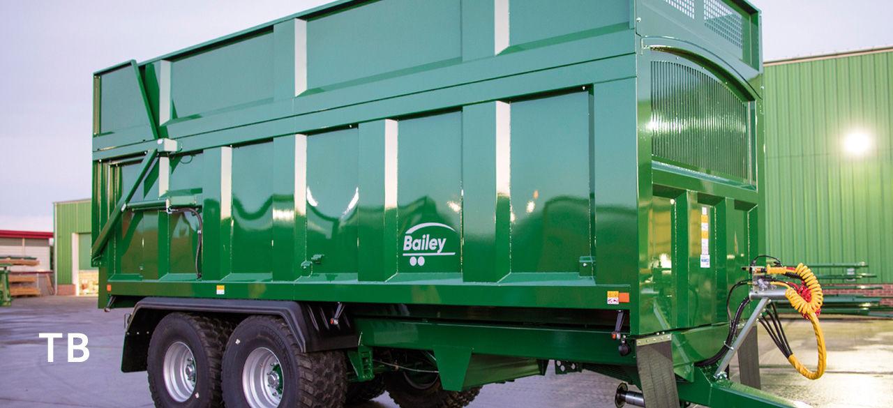 Remolque de 2 ejes / agrícola / basculante / para materiales pesados ...