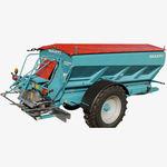 abonadora de arrastre / para fertilizante sólido