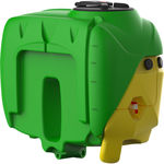 cuba de pesticida / relmolcada / de polietileno / para pulverización