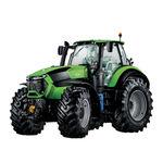 tractor con cabina / toma de fuerza delantera / con enganche en tres puntos
