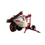 pulverizador para grandes cultivos / de arrastre / con brazo plegado