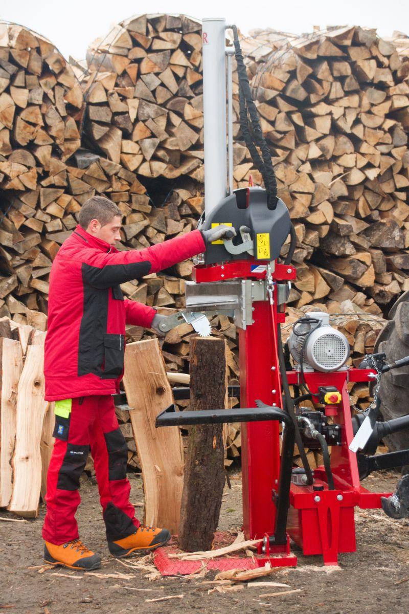 couteau fendeuse bois