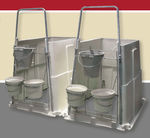 niche pour veaux / individuelle / en plastique / d'intérieur