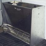 auge pour porcs / en acier inoxydable / en acier / multi-accès