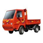 véhicule de transport 2 places / diesel / avec benne basculante / avec cabine