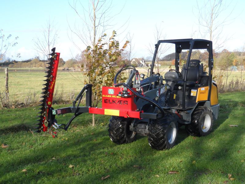 Arboriculture pruning machine / tractor-mounted / sickle bar HK1500-5  Elkaer Maskiner