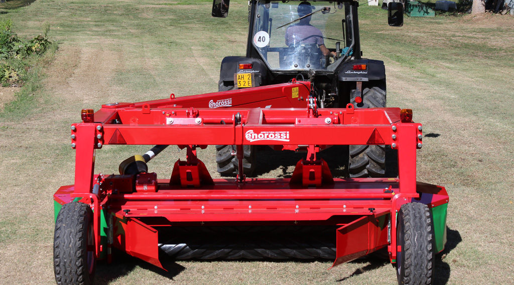 Disc mower / trailed / with conditioner - DM TREX Series