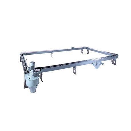 Grain conveyor / chain / flexible - TRF series - Horstkötter