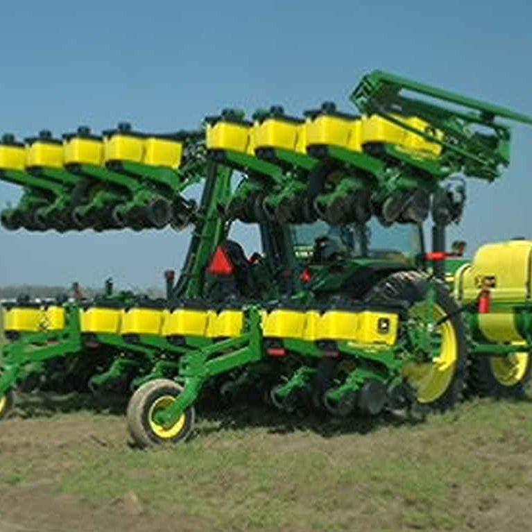 Mechanical Planter 12 Row 16 Row Tractor Mounted 1725 John