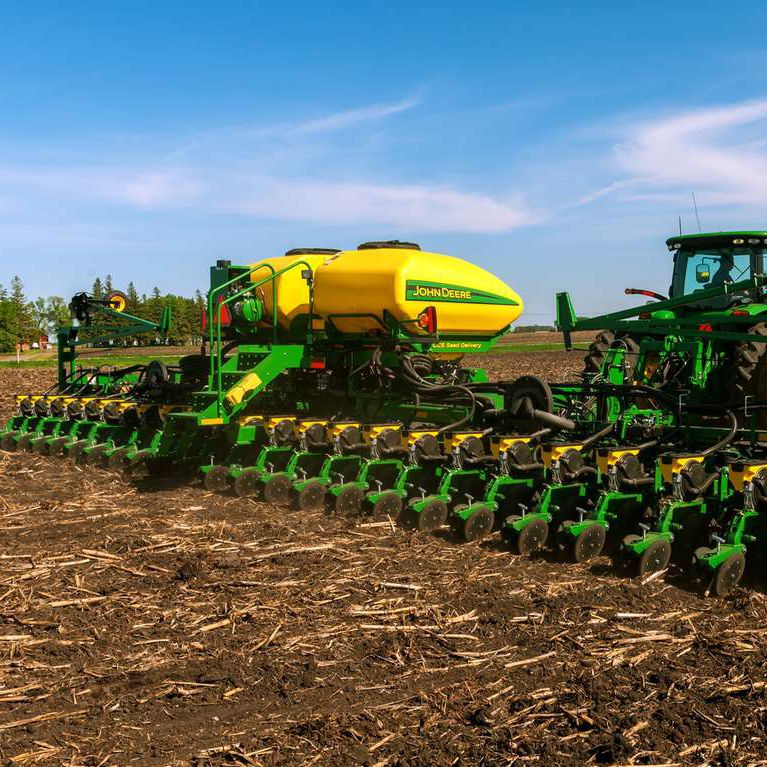 Hopper Planter 24 Row Tractor Mounted Db44 John Deere