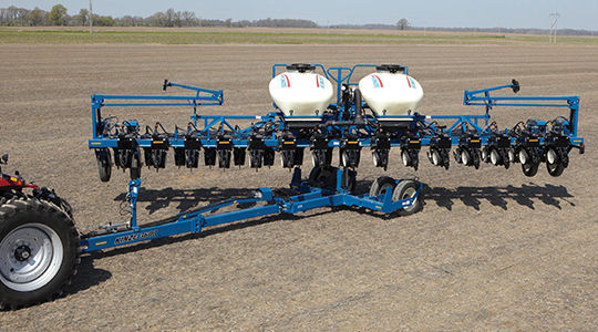 16 Row Precision Seed Drill Trailed Folding Twin Row 3600