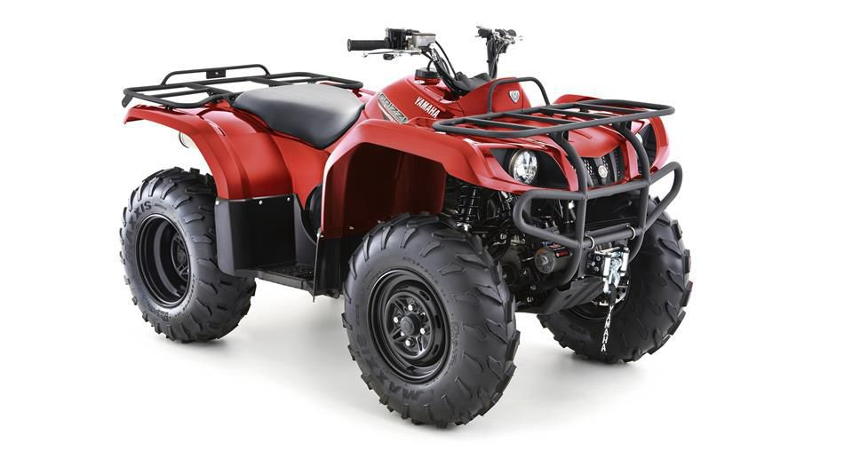 4x4 ATV / utility - Grizzly 350 4WD - Yamaha Motor Europe