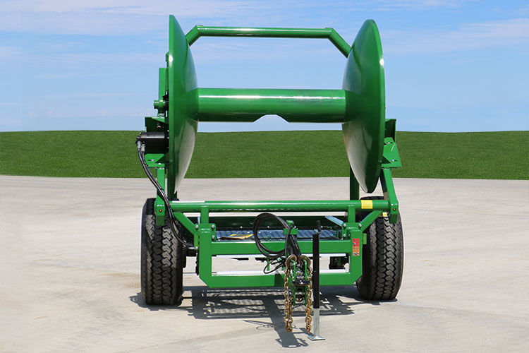 Manure hose reel / manual / trailed - HC8 - Puck Custom