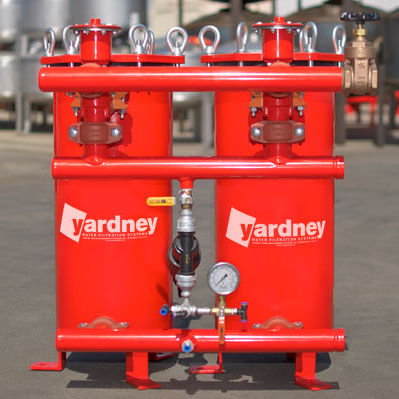 Irrigation sand filter / carbon steel / stainless steel / automatic