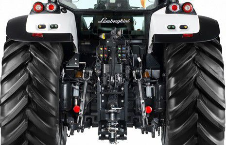 Power Shift Tractor With Cab Front Pto 3 Point Hitch Nitro