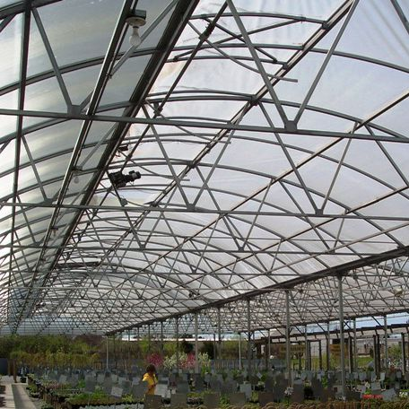 Tunnel type greenhouse / exhibition / steel frame / with gutter - Ez ...