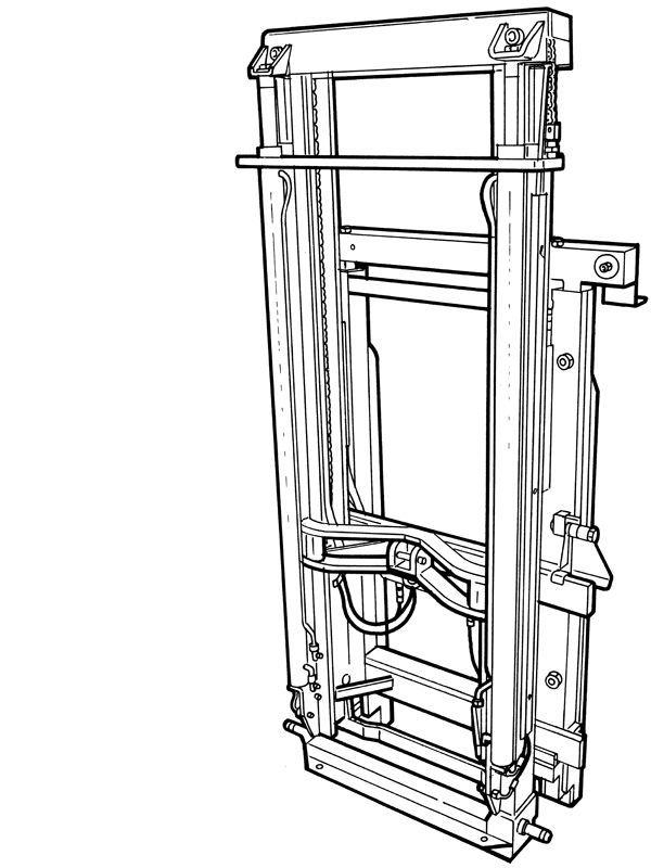 Fork Lift Diagram
