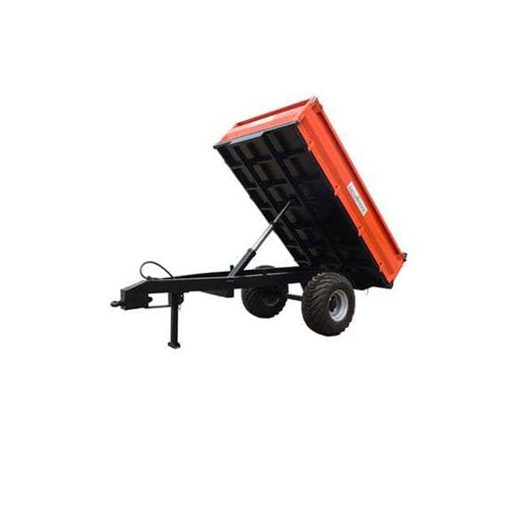 Dump trailer / single-axle / agricultural / tipping - TRAH