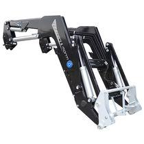 Self-leveling front loader
