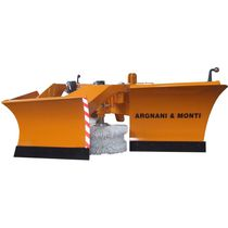 V-shaped snow plow