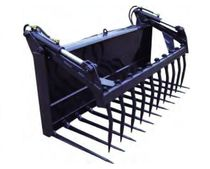 Manure fork / with center grab