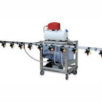 Trolley-mounted sprayer