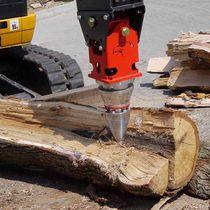 Cone log splitter