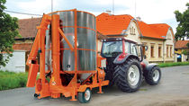 Grain dryer / mobile