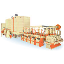 Wheat grain milling machine