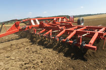 Mounted field cultivator / semi-mounted / with roller / 3-point hitch