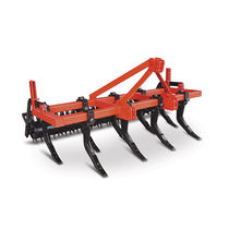 Chisel field cultivator / mounted / with roller