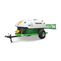 Tractor-mounted sprayer / trailed