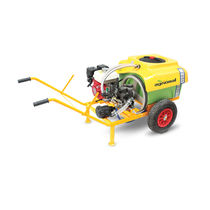 Small farm sprayer / for arboriculture / pushed / with combustion engine