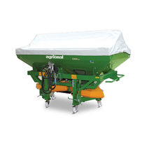 3-point hitch fertilizer applicator / trailed / dry