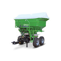 3-point hitch fertilizer applicator / trailed / solid