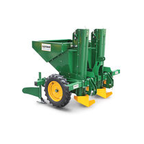 Twin-row precision seed drill