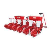 Precision seed drill with fertilizer applicator
